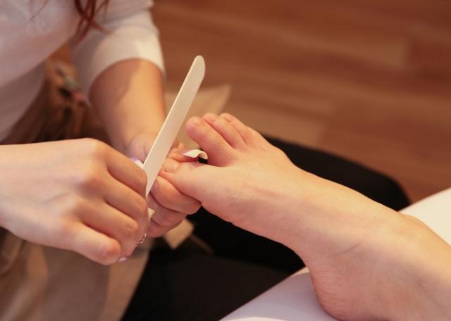 爪の臭い対策